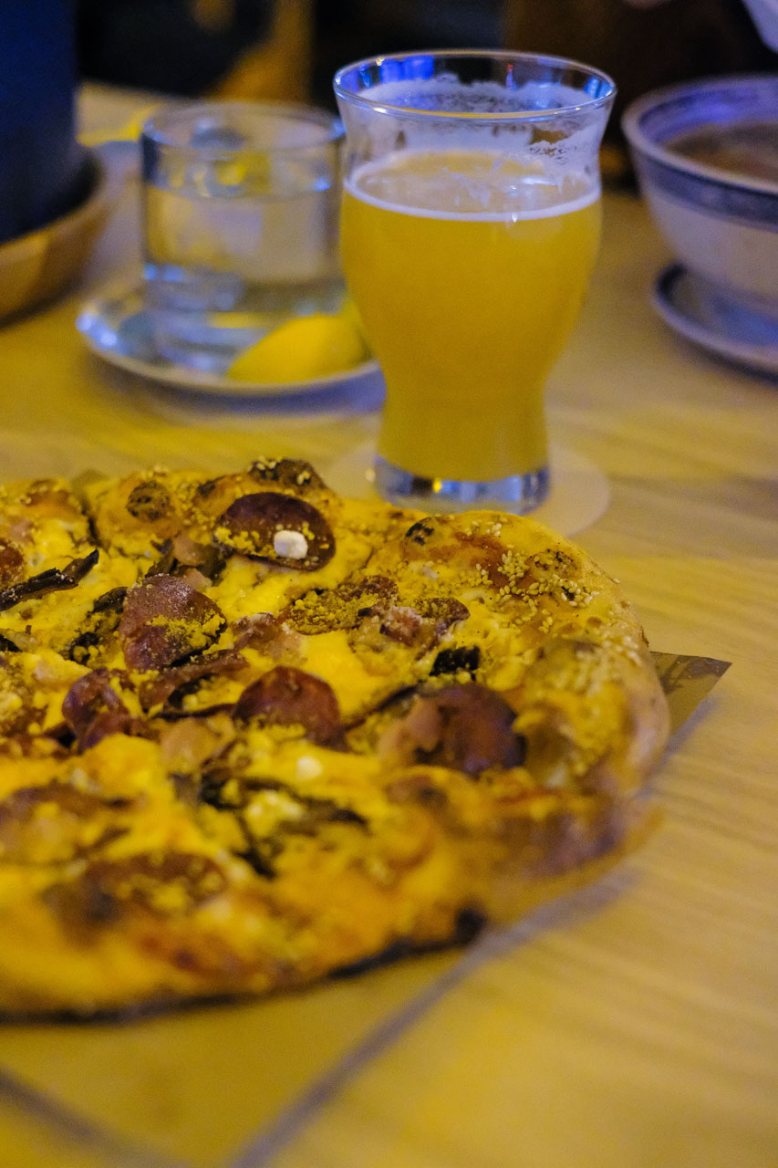 First Look: Good Pizza & Beer, Aw-pho Pho at Sing Sing Beer Bar on