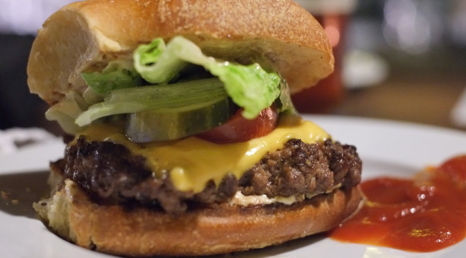 You're a dirty burger: Upstairs at Campagnolo