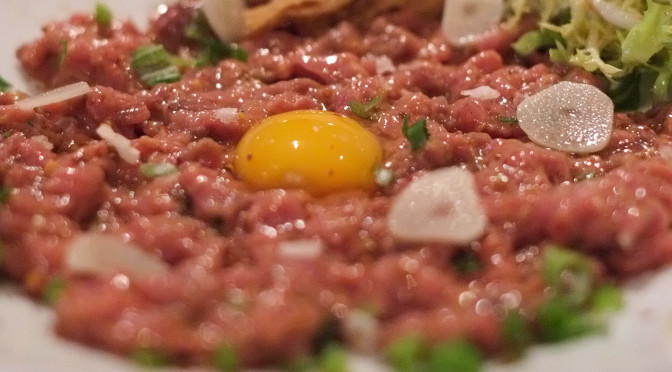 Horse Tartare at Mamie Taylor's