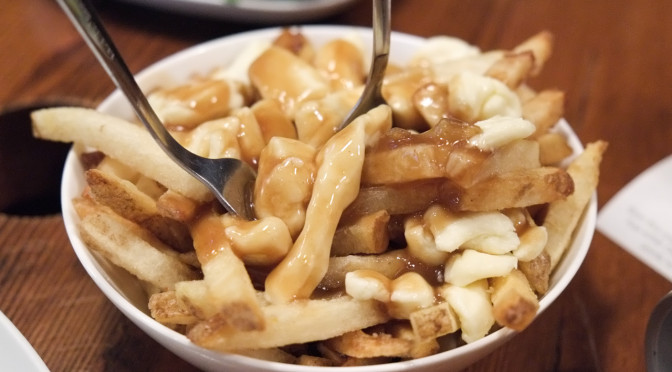 Great Poutine at Spud Shack