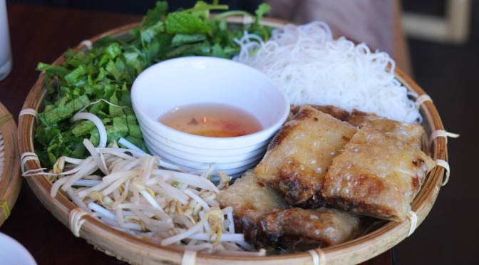 Fresh & Fantastic Northern Vietnamese Food at Mr. Red Cafe
