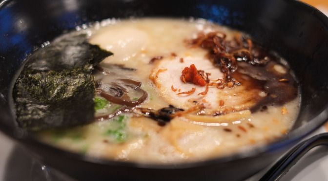Lunch Quickie: Fantastic Black Garlic Ramen at Ramen Jinya