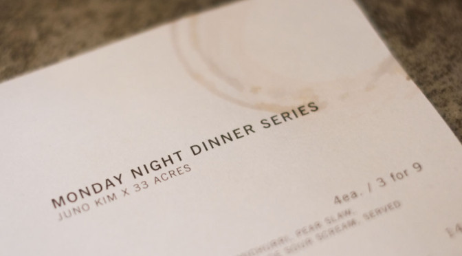 33 Acres x Juno Kim: Monday Night Dinner Series — Roast Chicken Tacos & Beer Chili