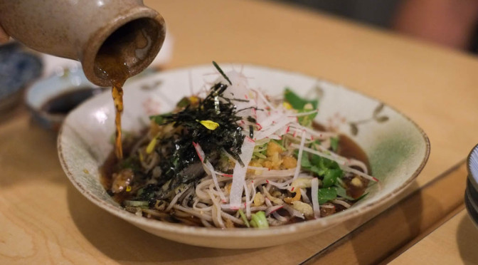 Great Handmade Buckwheat Soba Noodles and More at Kinome Japanese Kitchen in Kits