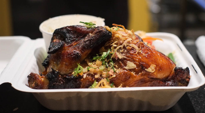 First Look: Juicy, Delicately-Seasoned Rotisserie Chicken at Freebird Chicken Shack in New West