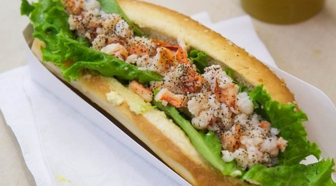 Ghetto Lunch Quickie: Lobster Roll at Sugarcane Bistro & Juice Bar at Kingsgate Mall
