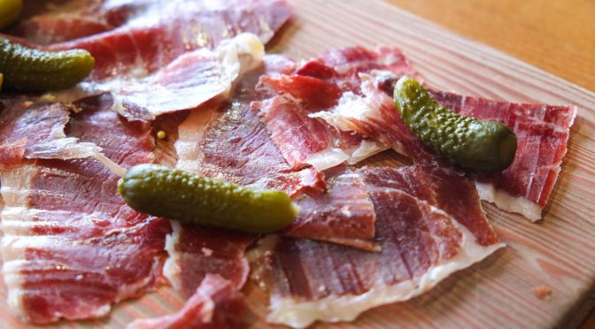 Moaning over Jamón at Cabrito Tapas