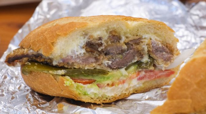 #EatTheWall: Mexican Tortas at Molli Cafe