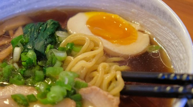 Lunch Quickie: Shoyu Ramen and Chicken Karaage at Gyo Para
