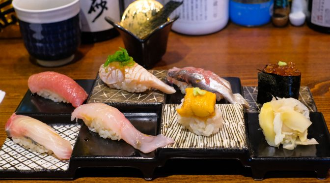 Premium Choice: A Sushi Lunch at Tetsu Sushi Bar on Denman